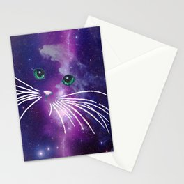 GALAXY CATGALAXY CATGALAXY CATGALAXY CAT Stationery Cards