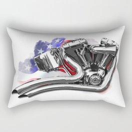 Harley engine Rectangular Pillow