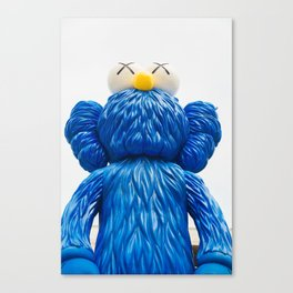 KAWS 'BFF' Companion Sculpture in LA Canvas Print