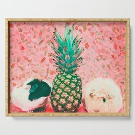 Guinea pig and pineapple Serving Tray
