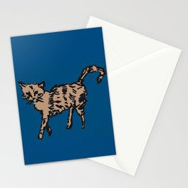 Animal Series - Scrappy Cat Stationery Cards