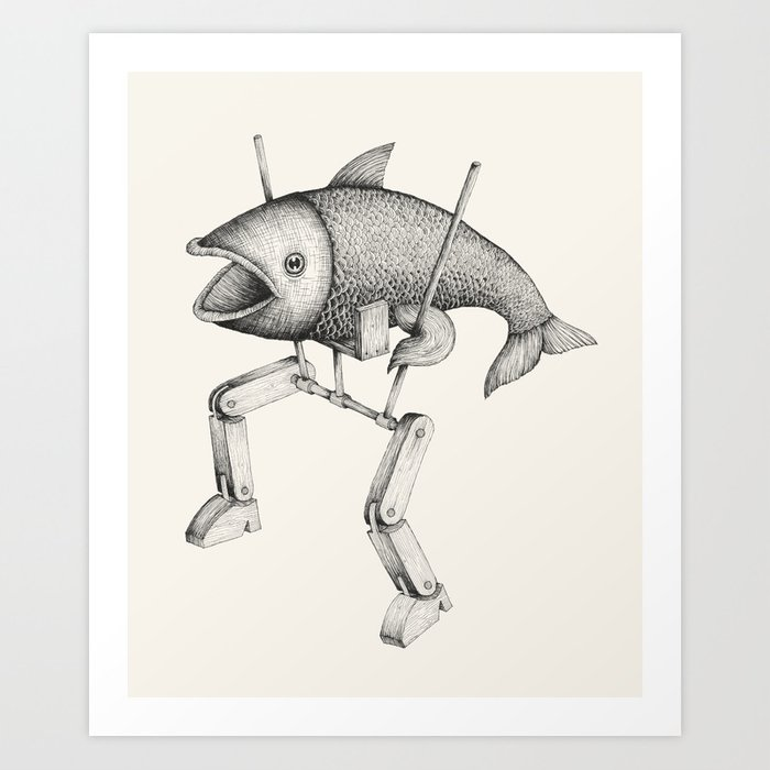 'Evolution I' Art Print
