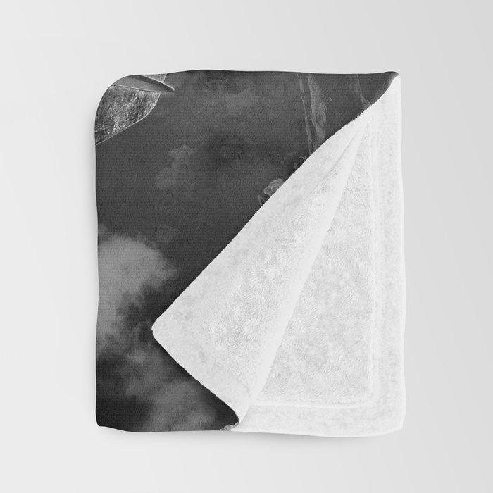 I. The Magician Tarot Card Illustration Throw Blanket