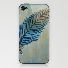 Tri-Color Feather iPhone & iPod Skin