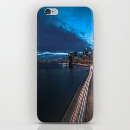 Blue Hour New York City iPhone Skin