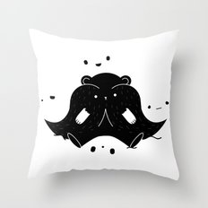 IMMIGRANT BEARS Throw Pillow