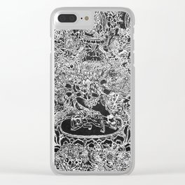 Permutations Clear iPhone Case
