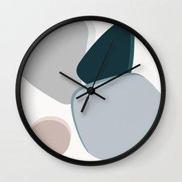 4 Shapes Wall Clock