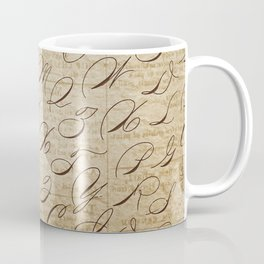 Calligraphitis Coffee Mug