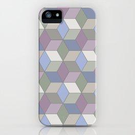 Cool Pastel Diamonds iPhone Case