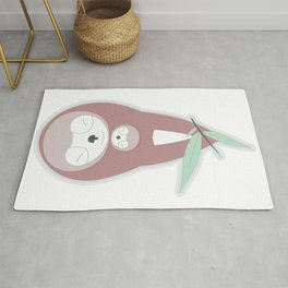 Sincere affection for children Rug