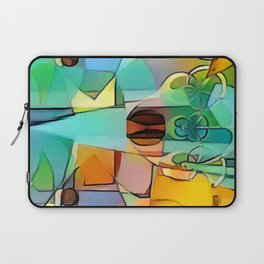 Simple Shapes Laptop Sleeve