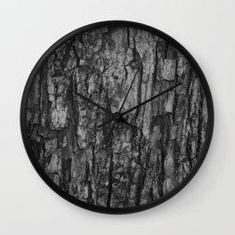 Bark VI Monochrome Wall Clock