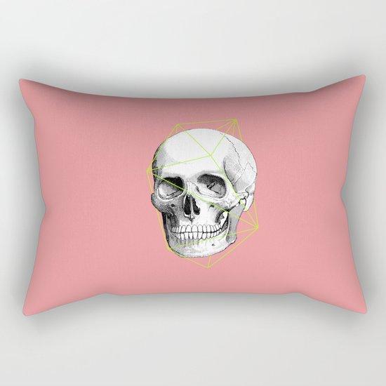 Geometric Skull Rectangular Pillow