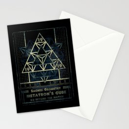 Sacred Geometry for your daily life - METATRON MATRIX Stationery Cards