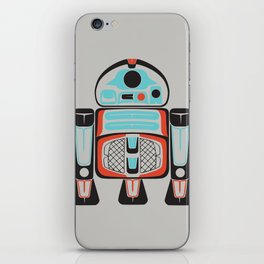 Silver Tenderfoot - Alliance Is Rebellion - R2-D2, wars, star iPhone Skin