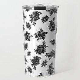 Americana: Rose Print Travel Mug