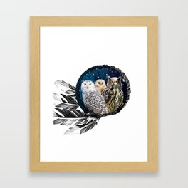 Owls Dream Framed Art Print