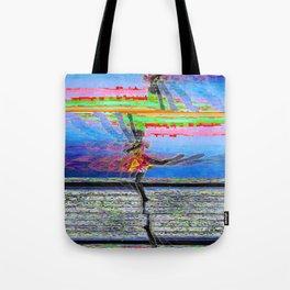 Glitch, Ballerina Tote Bag