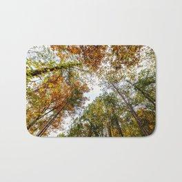 Fall Tree Tops Bath Mat