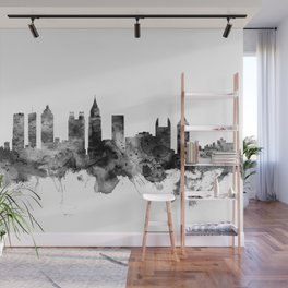 Atlanta Georgia Skyline Wall Mural