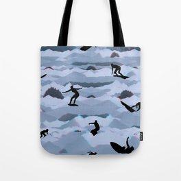 Surf + Turf Tote Bag