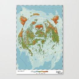 Ursidae - Land of the Bear Canvas Print