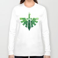 warhammer Long Sleeve T-shirts featuring Angels on the horizon by HenkusFilijokus