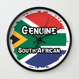 Genuine South African Wall Clock