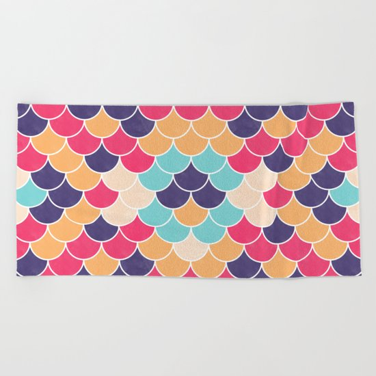 Lovely Pattern VVXVV Beach Towel
