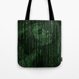Lady of Letters Tote Bag