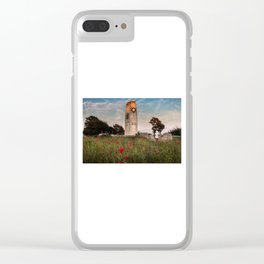 Swansea cenotaph memorial Clear iPhone Case