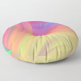 Sunrise Melody Floor Pillow