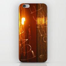 Love and peace sunset iPhone & iPod Skin