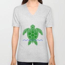 Magic Square Turtle Unisex V-Neck