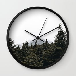 Into the Wild XII Wall Clock