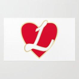 Loving heart Rug