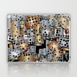 metal scraps Laptop & iPad Skin