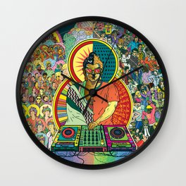 Life of Buddha - 7. Enlightenment and teaching  Wall Clock
