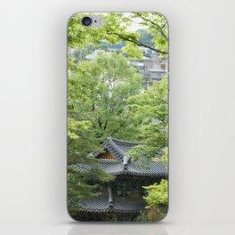Temple Gilsang iPhone Skin