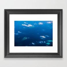 Above Paradise 2 Framed Art Print