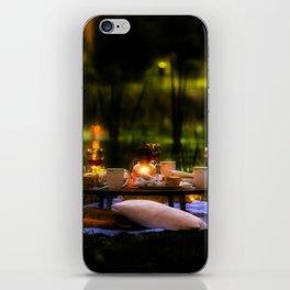 Candlelight Setting iPhone Skin