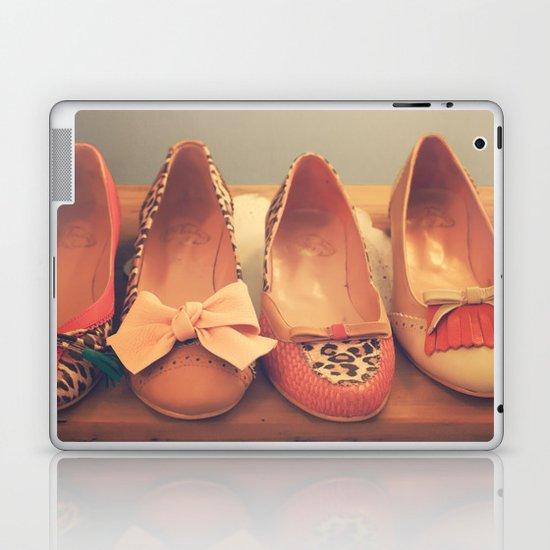 Vintage Shoes and Heels  Laptop & iPad Skin