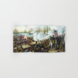 Andrew Jackson -- Battle Of New Orleans Hand & Bath Towel