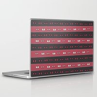 haikyuu Laptop & iPad Skins featuring Haikyuu!! Nekoma Bows by InkyThoughts