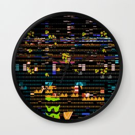 Worse That This Cannot Be A Mirage Wall Clock
