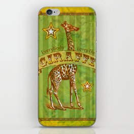 Giraffe iPhone Skin
