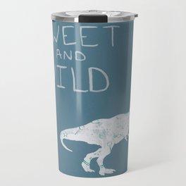 Sweet and Wild Dinosaur Travel Mug