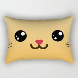 Tiny Kitty (Chibipalz) Rectangular Pillow
