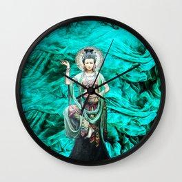 I have dreamed Kwan Yin Wall Clock